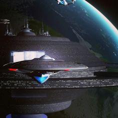 "The Blue Star sailing out, watch in ""Nightfall"" https://youtu.be/uW0XKTysBBY"