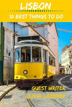 Lisbon - 10 best things to do | You will find a rich and diverse culture, a bohemian and effervescent nightlife scene, and eclectic and imaginative cuisines. Here are the top 10 things to do in Lisbon:  | #travel #traveltips #europe #portugal #lisbon | tourlina.com