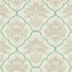 Framed Damask Wallpaper in White and Blue design by York Wallcoverings ($53) ❤ liked on Polyvore featuring home, home decor, wallpaper, wallpaper samples, damask home decor, damask wallpaper, metallic damask wallpaper, blue and white damask wallpaper and blue and white home decor
