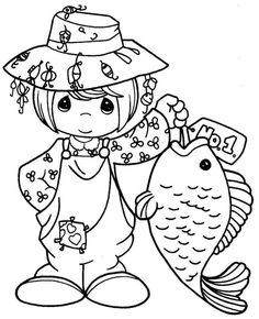 Precious Moments Coloring Pages - Bing Images Más Colouring Pics, Coloring Book Pages, Printable Coloring Pages, Coloring Pages For Kids, Coloring Sheets, Precious Moments Coloring Pages, Copics, Digital Stamps, Colorful Pictures