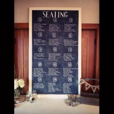 Seating Plan Chalkboard by Dayna Vago Chalkboard Signs, Chalk Board, Art Quotes, How To Plan, Design, Slate, Design Comics, Chalkboards