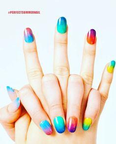 Colorful Nail Polish From Perfectsummer Perfectsummernail Gelnailpolish Nailpolish Nailart New
