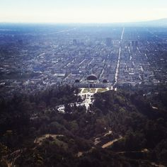 Mt Hollywood. Griffith park. (Photo taken by me)