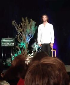 Jared showing off his dance movies. HELP I CANT STOP LAUGHING. I dance like this to....