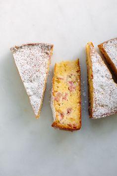 Flourless rhubarb + rosemary cake | My Darling Lemon Thyme