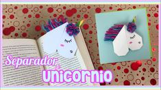 SEPARADOR DE UNICORNIO | CREATIVA OFFICIAL ️🦄 🎨❤️ - Si adoras las ideas de Unicornio, esta te va a encantar! No vuelvas a perder la hoja del libro que estás leyendo con este hermoso y fácil de hacer separador de Unicornio! Ideas Paso A Paso, Videos, Frame, Cards, Vestidos, Origami Step By Step, Good Advice, Pom Poms, Unicorn