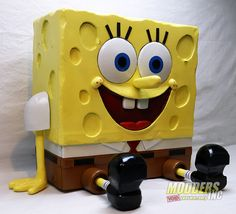 """""""Ohhhhhh! Who lives in a pineapple under the sea? SpongeBob SquarePants! Absorbent and yellow and porous is he! SpongeBob SquarePants!"""" Sometimes you don't ask why someone wants a certain case mod, you just take what they ask for and do your best. This kind of happened with a request from EVGA when they wanted a … - Post SpongeBob PC Case Mod appeared first on Modders-Inc. #moddersinc #voidyourwarranty #casemods"""