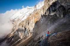 #TrailRunning #Alps Trail-Running with the Girls...