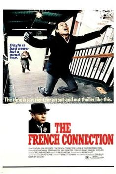 the FRENCH CONNECTION vintage movie poster 24X36 5 ACADEMY AWARDS police NEW Brand New. 24x36 inches. Will ship in a tube. - Multiple item purchases are combined the next day and get a discount for do