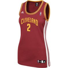 Cavaliers Ladies #2 Kyrie Irving Replica Jersey $65.00