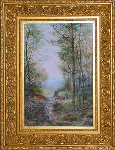 Bohumil Jaroš (1856 - 1924) | Krajina s potůčkem | www.marold.cz/aukce