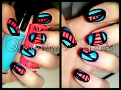 Playing around with stripers ;)   #nails #nailart #polish #stripes