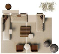 Sofa Layout, Furniture Layout, Furniture Plans, Furniture Design, Urban Furniture, Outdoor Furniture, Photoshop, Mood Board Interior, Sofa Design