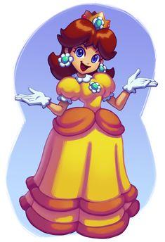 Is there a cow? Mario Princess Daisy, Princess Daisy Costume, Nintendo Princess, Mario Run, Mario Bros., Mario And Luigi, Mario Kart, Super Mario Smash Bros, Super Mario 1985