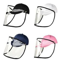 Protective Sun Hat 360 Dual-use Protecting Outdoor Foldable Cap for Fishing Diy Mask, Diy Face Mask, British Hats, Clear Face Mask, Vintage Helmet, Half Mask, Protective Mask, Easy Sewing Patterns, Diy Hair Accessories