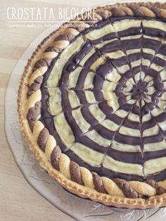 Crostata bicolore - ricetta golosa | I Pasticci della Zia Tata