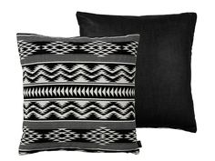 Kelim Weave pude / kelim pillow black White 50x50
