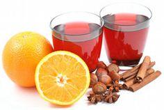 Vin brulè : infuso scaccia raffreddore/influenza, va bevuto prima di coricarsi, è adatto anche ai bambini poichè l'alcool evapora in cottura.