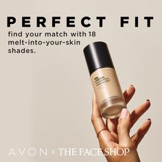 Our exclusive collaboration with The Face Shop brings you super-luxurious Korean beauty products that are influencing the world. Buildable medium-to-full coverage Long Lasting Foundation, Matte Foundation, Chi Hair Products, Cool C, Skin Shades, Oil Shop, The Face Shop, Avon Representative, Even Skin Tone