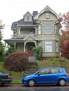 Groat-Gates House, 35 NE 22nd Ave, Portland, OR.