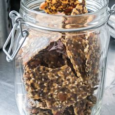 Hembakat ekologiskt fröknäcke Smoothies, Cereal, Oatmeal, Gluten Free, Snacks, Breakfast, Milkshakes, Food, Student