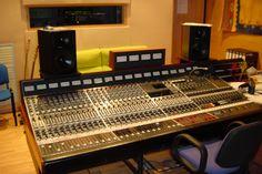 Music Lan Studio Neve 8036 Console | Miloco Residential Recording Studio Photos