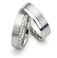 Platinum Matching Wedding Rings