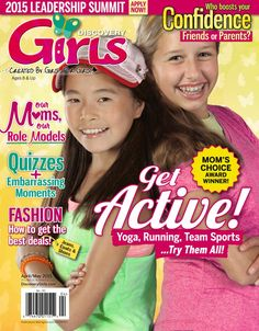 #DiscoveryGirls magazine April/May 2015 issue