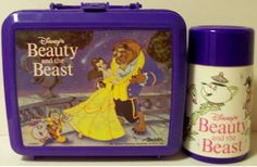 plastic lunchbox with matching thermos