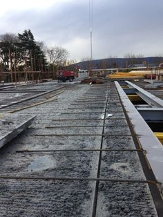 Flood Precast UK/Ireland leading precast concrete manufacture provides Wideslab for High-end housing development - Hollowcore/Precast Stairs