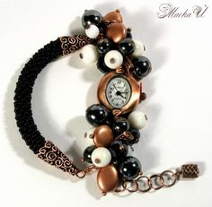 Again watch   biser.info - all about beads and beaded works - NOT A TUTORIAL, JUST AN IDEA