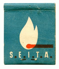 vintage matchbook