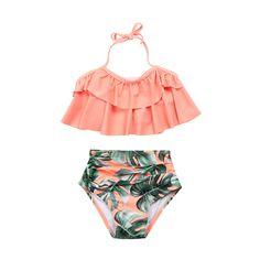 FUN in the Sun Options) - Summer bathing suits fashion ❤️ - Baby Bikini Baby Bikini, Baby Girl Swimwear, Baby Girl Swimsuit, Kids Swimwear, Bikini Set, Swimsuit For Kids, Bikini Swimsuit, One Piece Swimsuit Strapless, Two Piece Swimwear