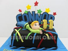 laser tag theme cake - Google Search
