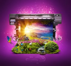 Visual Created for Icon Digital Print @ Icon Advt.