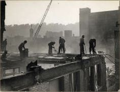 (Industry: Demolition of a Downtown Building) CLYDE HARE (AMERICAN, JULY 11, 1927–OCTOBER 14, 2009) 1950