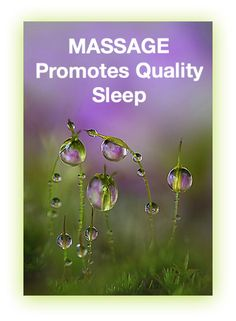 Massage Promotes Quality Sleep!  Come to Fulcher's Therapeutic Massage in Imlay City, MI and Lapeer, MI for all of your massage needs!  Call (810) 724-0996 or (810) 664-8852 respectively for more information or visit our website xrosskore.com!