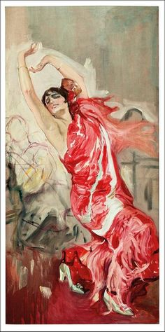 Flamenco Dancer, Joaquin Sorolla, Sorolla Museum in Madrid, Spain ~love Spanish Painters, Spanish Artists, Spanish Dress, Spanish Style, Pop Art, Flamenco Dancers, Art And Architecture, Portraits, Les Oeuvres