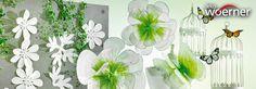 """Aktuell im #DekoWoerner Online Blog:""""#Grün-Weisse Aussichten"""" Grasgrün wirkt wie ein optischer Frischekick. #Banner und #Großdrucke mit #Gräsern, #Blättern, #Bäumen und #Sträuchern machen aus jedem nüchternen Winkel eine frühlingsfrische Kulisse. Pünktlich zum #Frühlingsanfang dürfen sie sich die neusten #Trends nicht entgehen lassen. http://dekowoerner.blogspot.de/2016/03/grun-weie-aussichten.html. #Deko #Dekoration #Frühlingsdeko"""