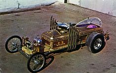 Drag-U-La, by George Barris  my Dad took a pic of this car back when i was about 12, he went up on the cool scale when he gave me the pic