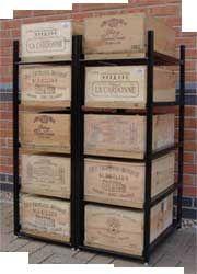 Wine Case Shelving