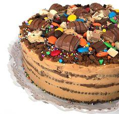 """Chocolate Cake"" ♨️🎂🍫🌈 by By Khanim Guliyeva👩🏻🍳 Choco Torta, Bon Appetit, Chocolate Cake, Tiramisu, Delish, Cake Decorating, Bakery, Cheesecake, Deserts"