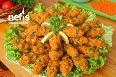 Kolay Mercimek Köftesi (videolu) Tarifi Iron Rich Foods, Iftar, Mac And Cheese, Pie Recipes, Tandoori Chicken, Pesto, Food And Drink, Favorite Recipes, Dinner