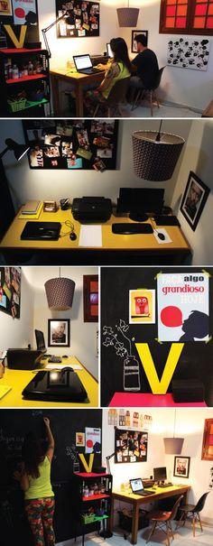Redação #ACQMVQ, o nosso Home Office.