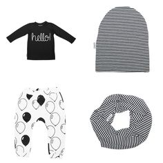 Hello longsleeve, balloons harem and striped accessoires by Zreefer