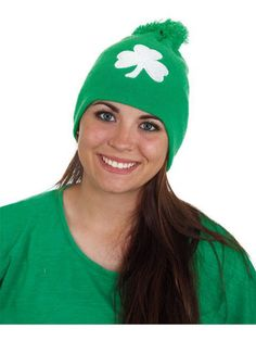 Check out St. Patrick's Day Knit Hat - Hats & Headwear for St Patrick's Day from Wholesale Halloween Costumes