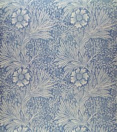 "Wallpaper by William Morris called ""Marigold"""