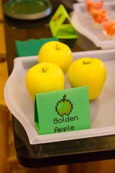 Minecraft party food ideas - Golden Apple