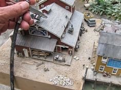 Cleaning Up an Old Model Railroad Scene | Model Railroad Academy