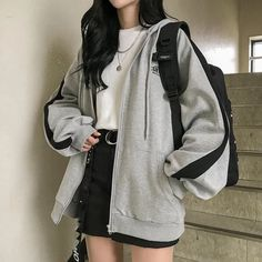 Source by FlowerGiiirl outfits edgy # Outfits coreanos Kpop Fashion Outfits, Mode Outfits, Retro Outfits, Cute Casual Outfits, Casual Clothes, Korean Casual Outfits, Korean Outfit Street Styles, Korean Summer Outfits, Casual Boots